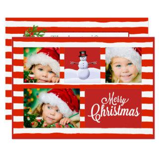 Kerstmis van het Riet van het snoep Kaart