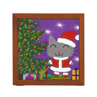 Kerstmis van Meowy Pennenhouder