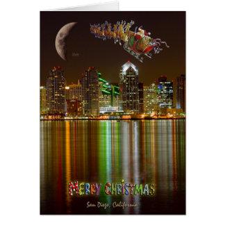 Kerstmis van San Deigo Briefkaarten 0