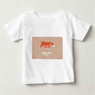 Kerstmis vos baby t shirts