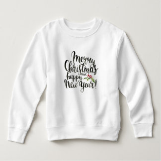 Kerstmis | Waterverf - de Gelukkige Poinsettia van Kinder Fleece