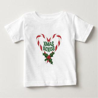 Kerstmis XOXOs Baby T Shirts