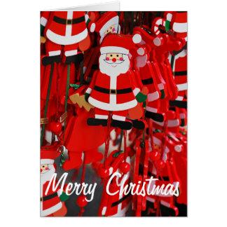 Kerstmisdecoratie van de Kerstman Briefkaarten 0