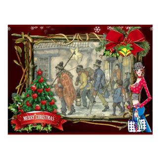 Kerstmisgroeten van Anton Pieck Briefkaart