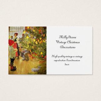 Kersttijd opnieuw weinig jongen en Julgran Visitekaartjes