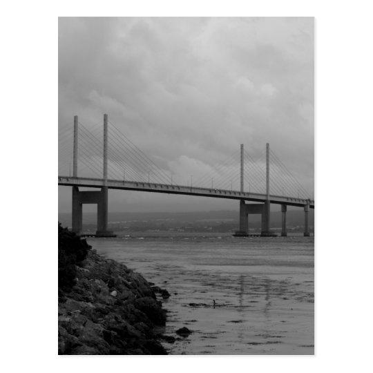 Kessock bridge in Scotland Briefkaart