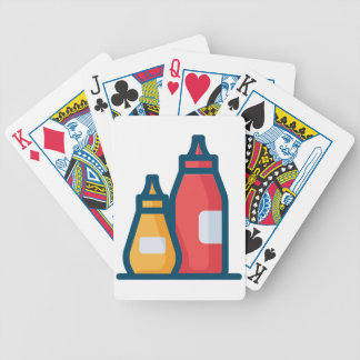 Ketchup en Mosterd Poker Kaarten
