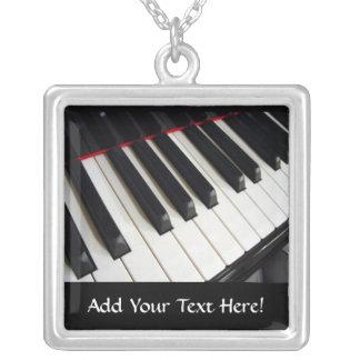 Ketting van de Muziek van de piano het Sleutels Ge