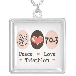 Ketting van Triathlon van de Liefde van de vrede
