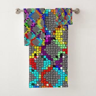 Ketting Verbonden Gebrandschilderd glas Bad Handdoek