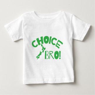 Keus Bro (de kaart van Nieuw Zeeland van de Kiwi) Baby T Shirts