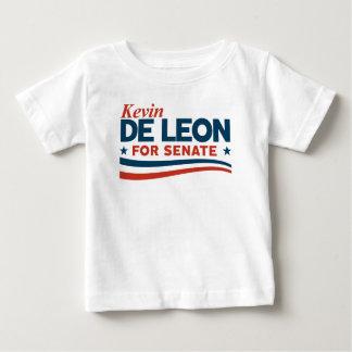 Kevin de Leon voor Senaat Baby T Shirts