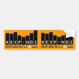Kexp-HD2 de Sticker van de bumper