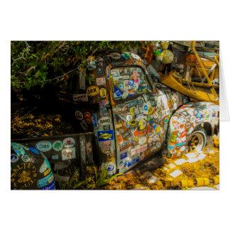 Key West is Kunst, Oude Pick-up Kaart