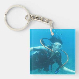 keychain acryl Aangepast sleutelhanger -