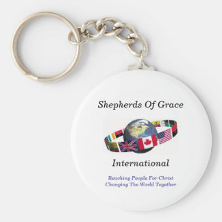 Keychain - Internationale Herders van Gunst, Basic Ronde Button Sleutelhanger