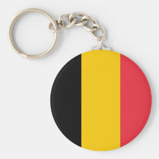 Keychain met Vlag van België Sleutelhanger