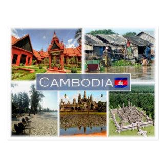 KH Kambodja - Briefkaart