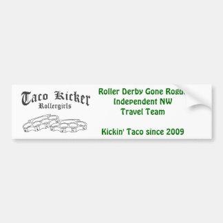 Kicker RG van de taco bumpie Bumpersticker
