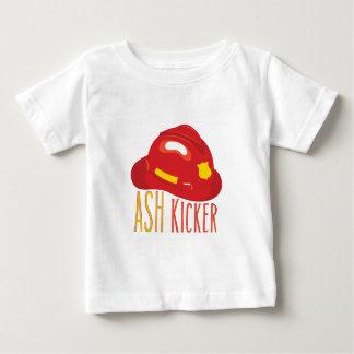 Kicker van de as baby t shirts