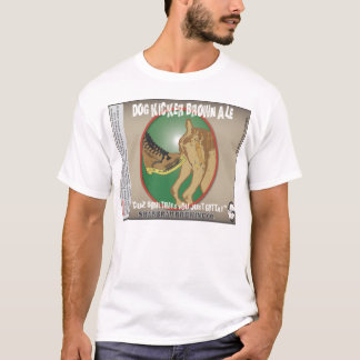 Kicker van de hond Bruin Aal T Shirt