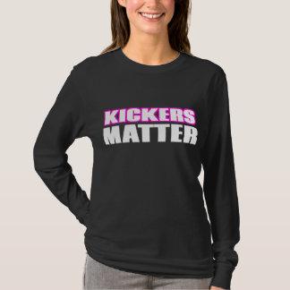 Kickers zijn van belang t shirt