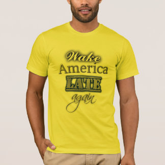 Kielzog Amerika laat opnieuw - de AntiT-shirt van T Shirt