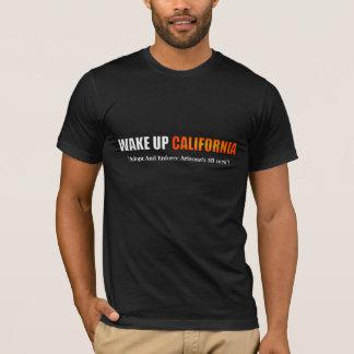 Kielzog op het Overhemd van Californië T Shirt