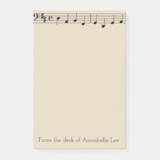 Kies Bar van Muziek uit Post-it® Notes