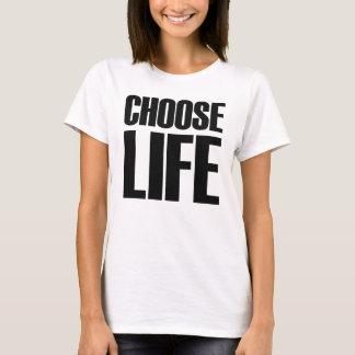 Kies de T-shirt van de Jaren '80 van het Leven