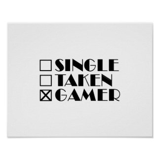 Kies Genomen uit of Gamer Poster