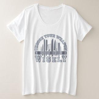 Kies Uw overhemden & jasjes van het Wapen Grote Maat T-shirt
