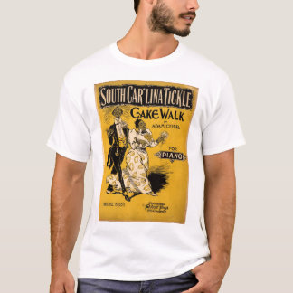 Kietelend gevoel het Zuid- van Carolina T Shirt