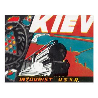 Kiev Intourist de USSR Briefkaart
