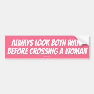 Kijk Beide Manieren alvorens een Sticker van de