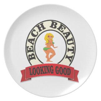 kijkend goede meisjesboete melamine+bord