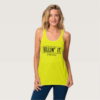 Killin It Racerback hoogste 72marketing Sexy Flowy Tanktop