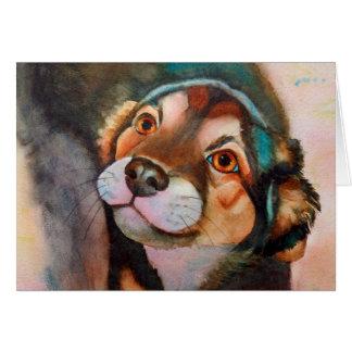 Kimba, de Mengeling van Terrier van de Herder Briefkaarten 0