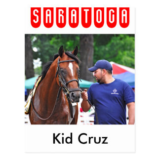 Kind Cruz in Saratoga Briefkaart