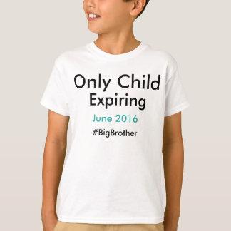 Kind die slechts #bigbrother verlopen t shirt
