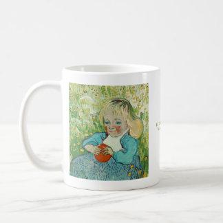 Kind met een Sinaasappel door Vincent van Gogh Koffiemok