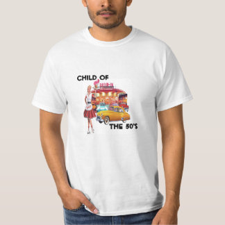 Kind van de jaren '50 t shirt