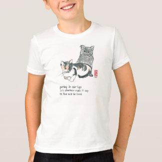 kind van de Kleding van de kattenminnaar het T Shirt