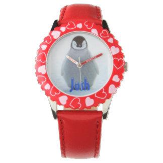 Kinder Bezeled Horloge w/image & naam