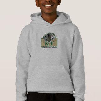 Kinder Fundamenteel Sweatshirt Met een kap