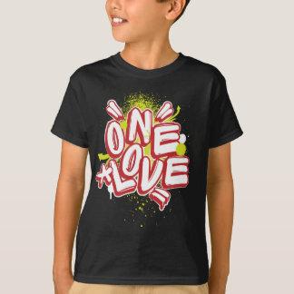 Kinder Graffiti: Één Liefde Streetwear T Shirt