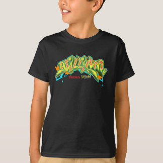 Kinder Graffiti: William Streetwear T Shirt