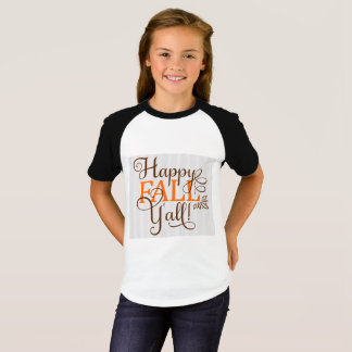 Kinder Herfst T Shirt