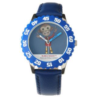 Kinder Horloge - Mumbai Monkey™