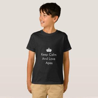 Kinder ` houdt een Liefde Kalm imiteert' T-shirt